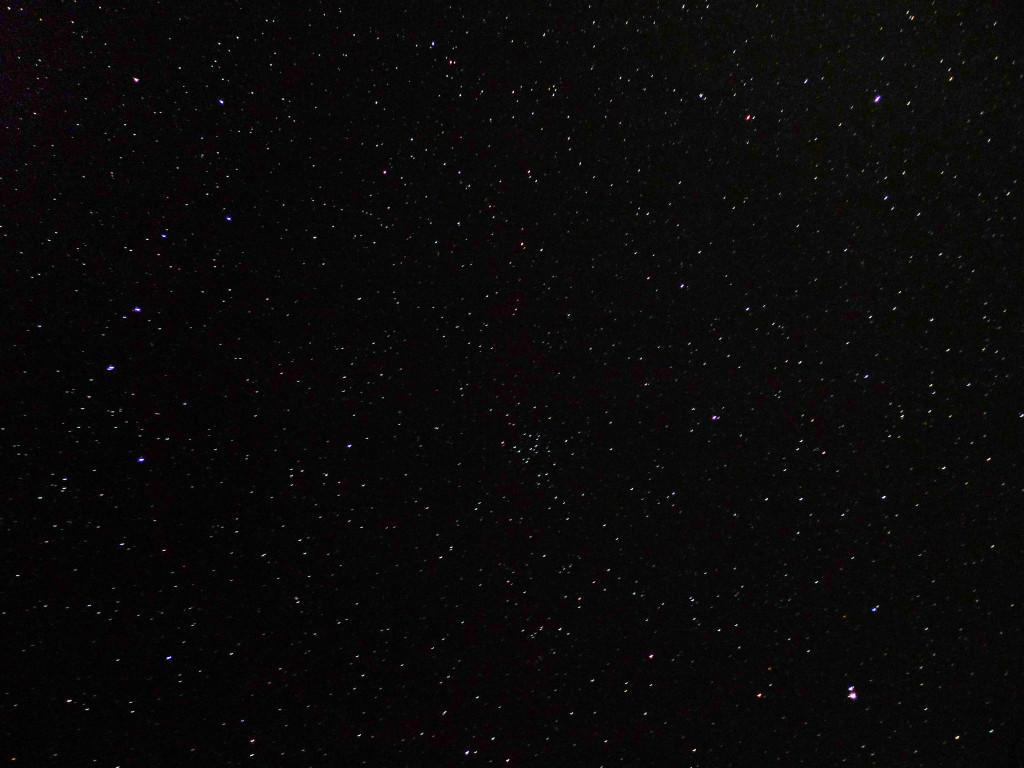 Sternenhimmel Jordanien - Licht und Finsternis