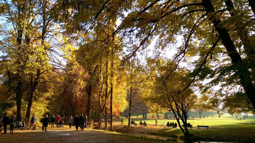 Herbst in München